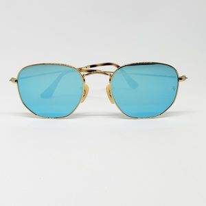 Ray Ban Sunglasses Flat Lens hexagonal